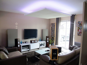 damiacoustic plafond suspendu acoustique modulaire pour. Black Bedroom Furniture Sets. Home Design Ideas